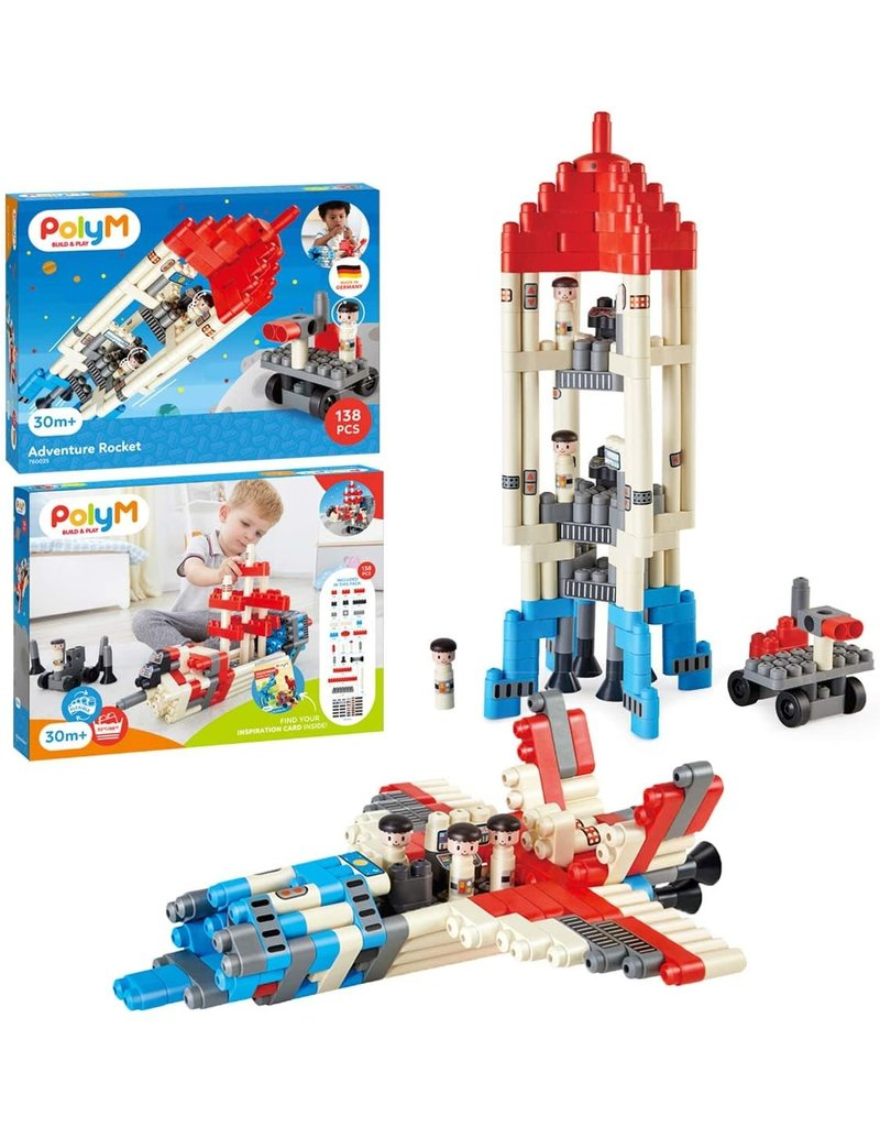 PolyM Poly-M Adventure Rocket