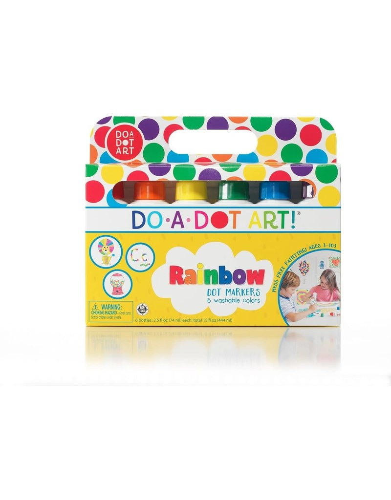 Do-A-Dot 6 Pack Rainbow Do-A-Dot