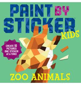 Workman Pub Paint by Sticker Kids -Zoo