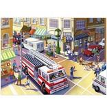 Eeboo Fire Truck 20 pc