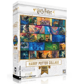 New York Puzzle Co Harry Potter Collage 1000 pc
