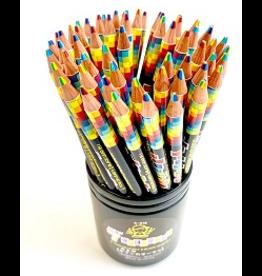 BC USA Rainbow Pencil