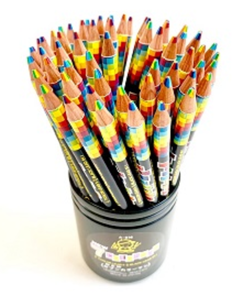 BC USA Rainbow Pencil
