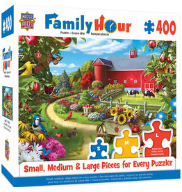 Masterpieces Puzzles Apple of My Eye 400 pc Family