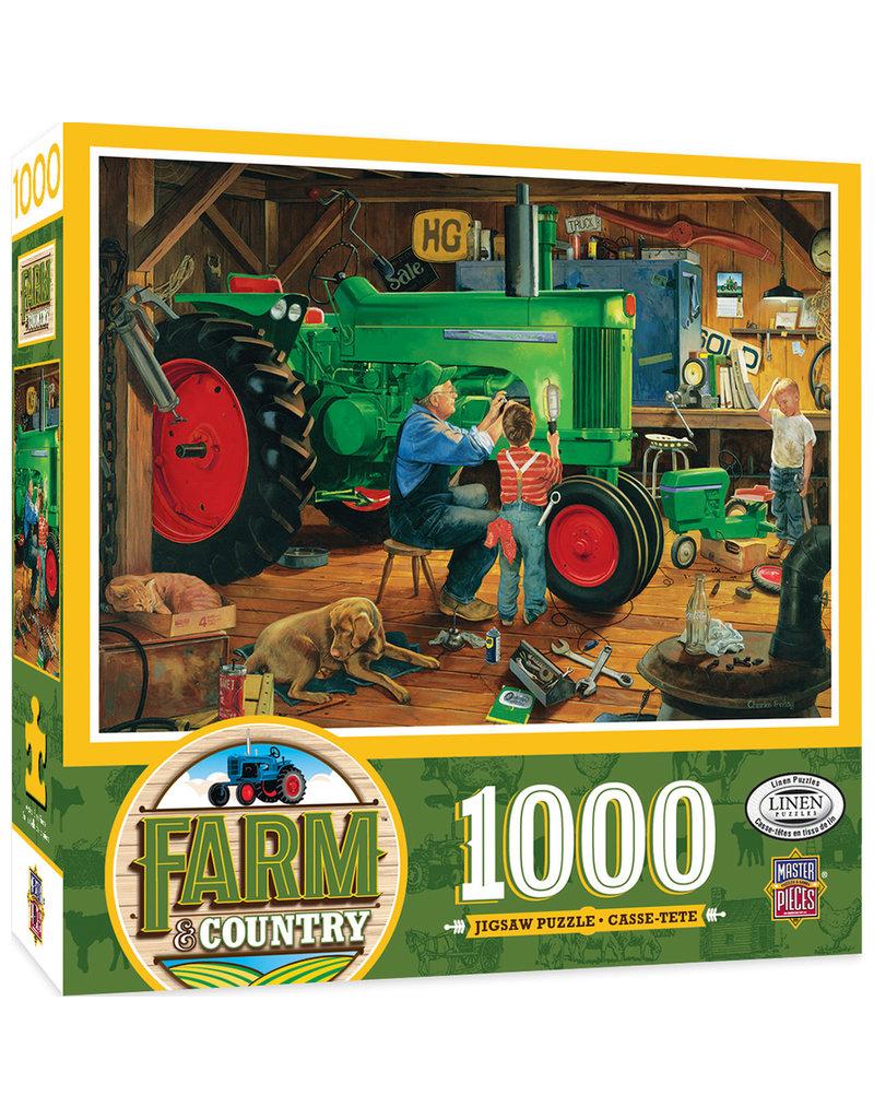 Masterpieces Puzzles The Restoration 1000 pc