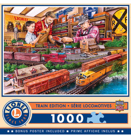 Masterpieces Puzzles Lionel Trains Shopping Spree 1000 pc