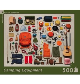 New York Puzzle Co Camping Equipment 500 pc
