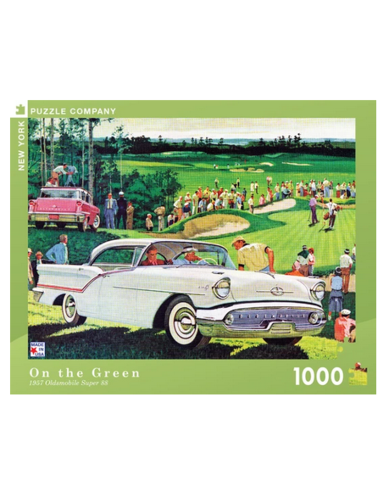New York Puzzle Co On the Green 1000 pc
