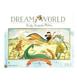 New York Puzzle Co Dinosaur Dream 80 pc