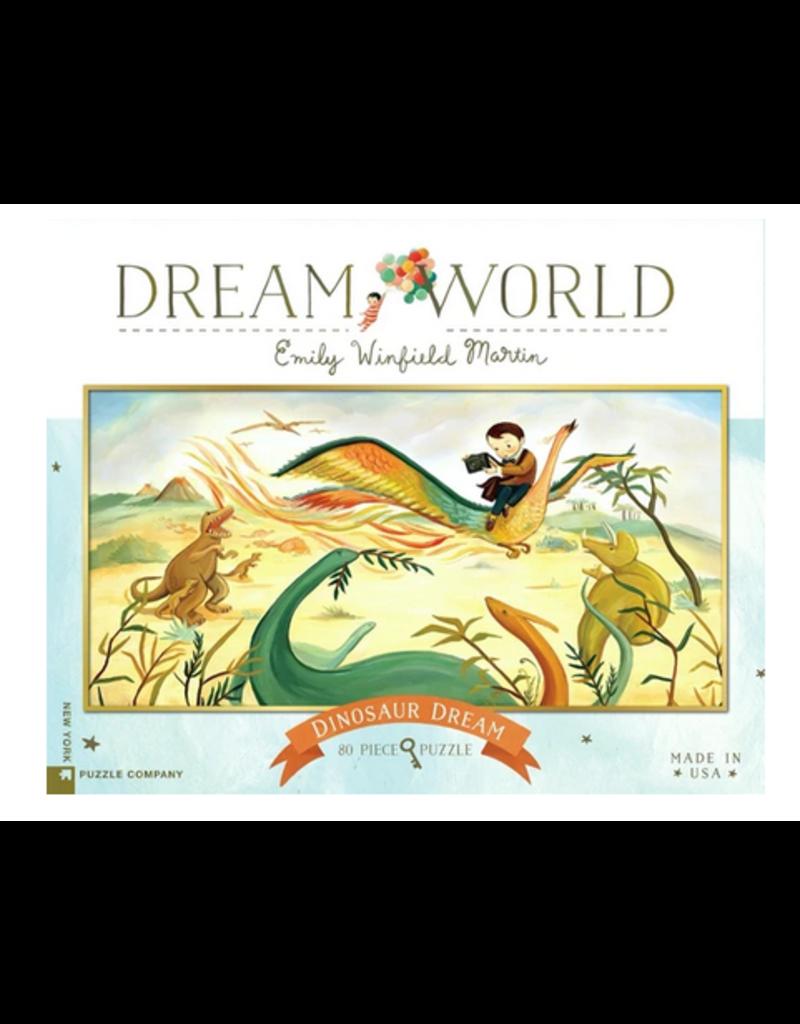 New York Puzzle Co Dinosaur Dream 80 pc
