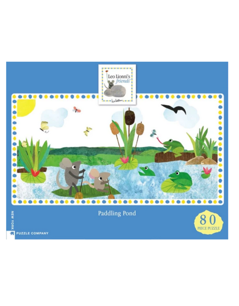 New York Puzzle Co Paddling Pond 80 pc