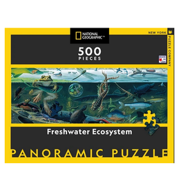 New York Puzzle Co Freshwater Ecosystem 500 pc