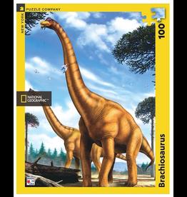 New York Puzzle Co Brachiosaurus 100 pc