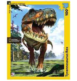 New York Puzzle Co Tyrannosaurus Rex 100 pc