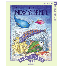 New York Puzzle Co Underwater Adventure 200 pc