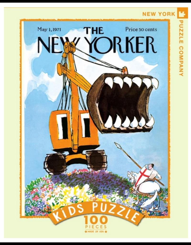 New York Puzzle Co Excavator Slayer 100 pc