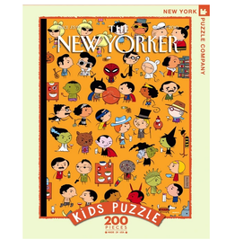 New York Puzzle Co Dressed Down 200 pc