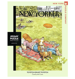 New York Puzzle Co To Fetch or Not to Fetch 500 pc