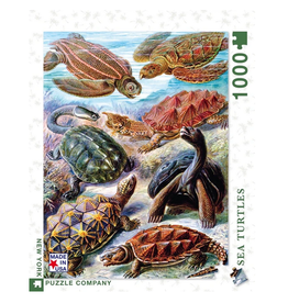 New York Puzzle Co Turtles 1000 pc