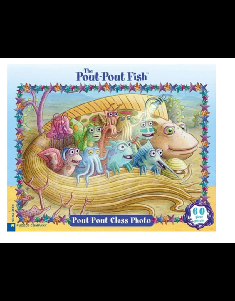 New York Puzzle Co Pout Pout Class Photo 60 pc