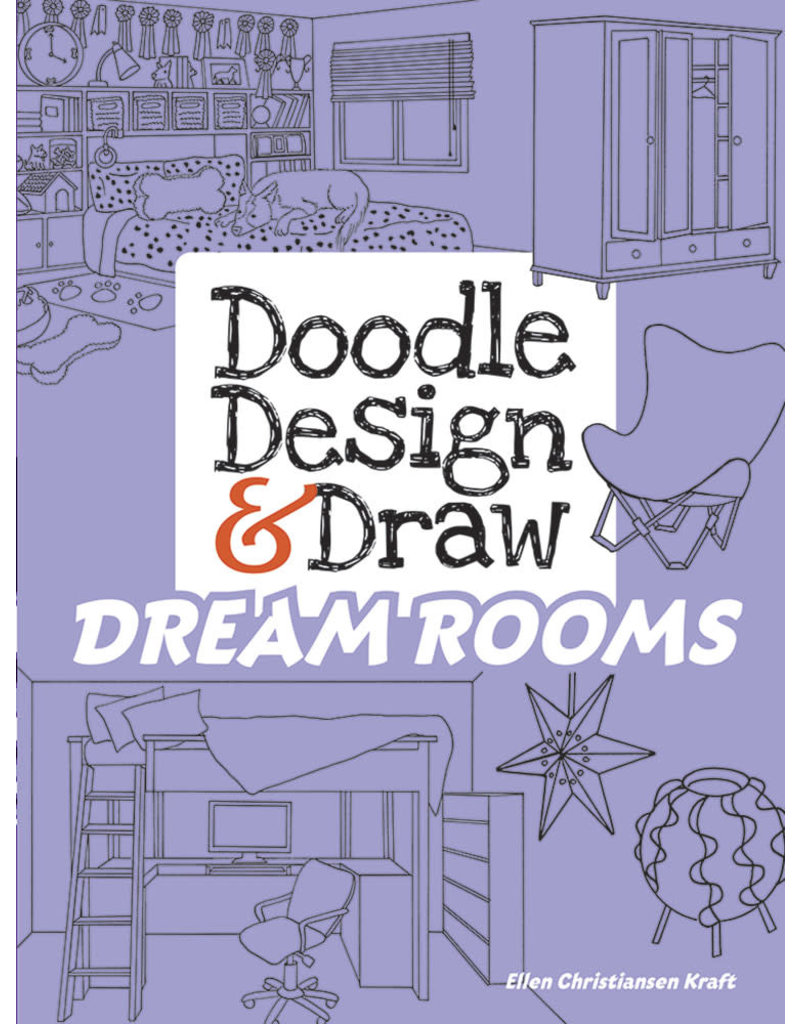 Dover Doodle Design & Draw DREAM ROOMS
