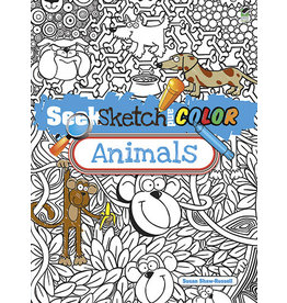 Dover Seek, Sketch and Color -- Animals