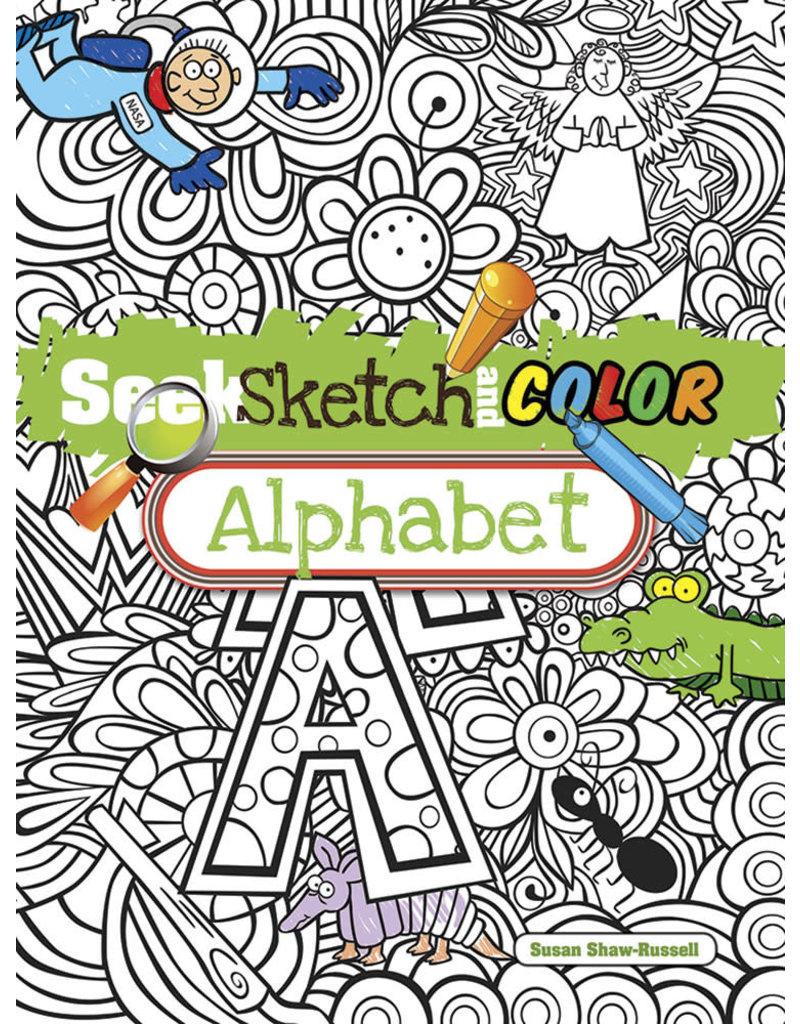 Dover Seek, Sketch and Color -- Alphabet