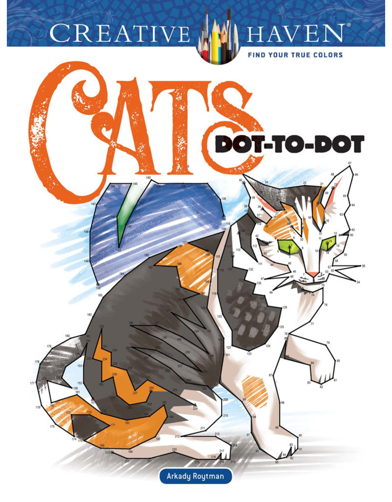 Dover Cats Dot-to-Dot