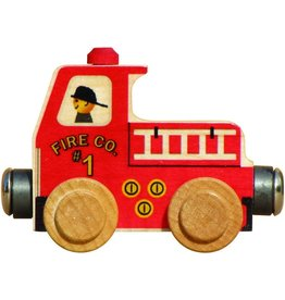 Maple Landmark Name Train - Fire Truck