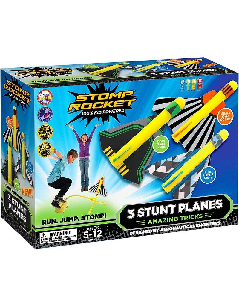 D & L Stomp Rocket Stunt Planes Stomp Rocket