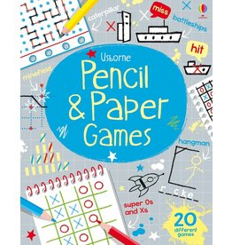 Usborne Pencil Paper Games