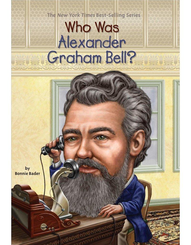 Penguin Randon House Who Was Alexander Graham Bell?