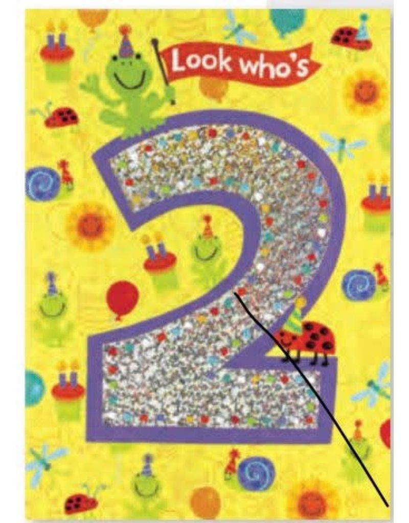 Peaceable Kingdom You're 2 Birthday Card