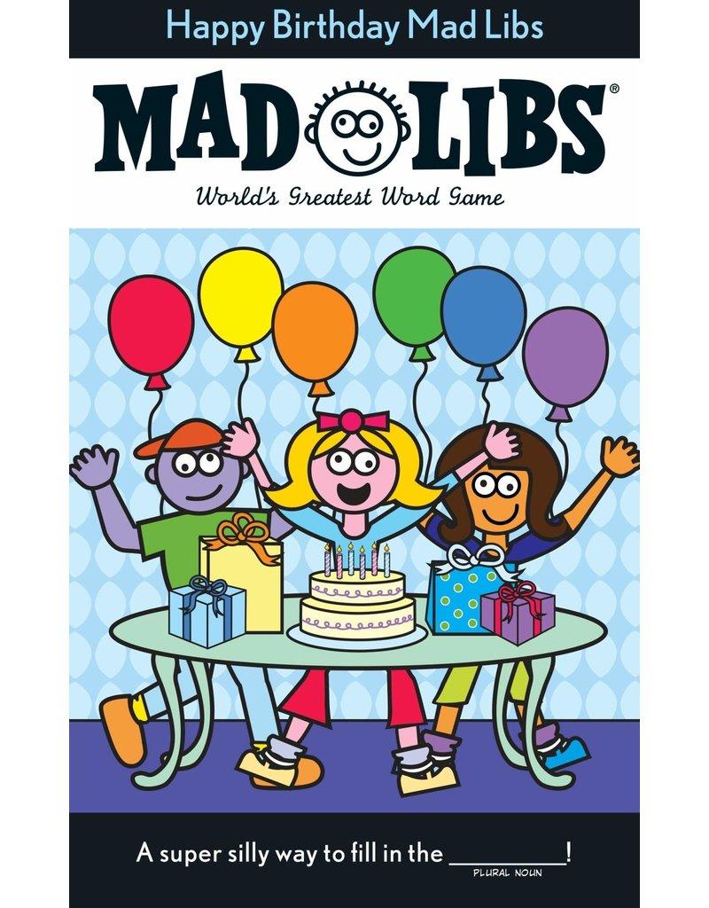 Penguin Happy Birthday MAD LIBS