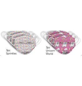 Watchitude Kids Masks- Sprinkles/Unicorn- 6 pk