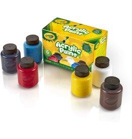 Crayola Acrylic 2-oz. Paint Set