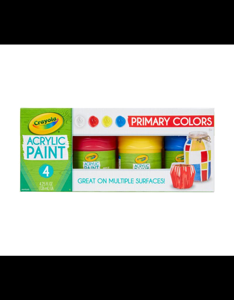 Crayola Multi Surface Acrylic Primary