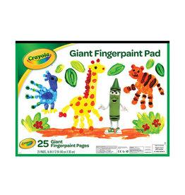 Crayola Giant Fingerpaint Paper
