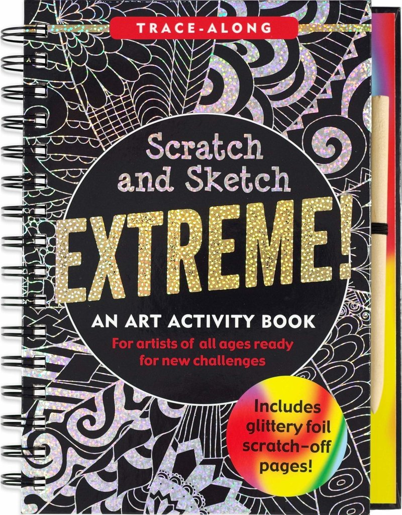 Peter Pauper Scratch & Sketch EXTREME