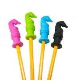 Pencil Grip Horse Head Chewable Pencil Topper