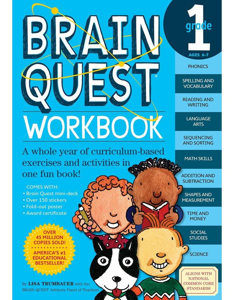 Workman Pub Brain Quest Workbook Grade 1