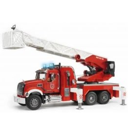 Bruder Mack Fire Engine w/ Water Pump
