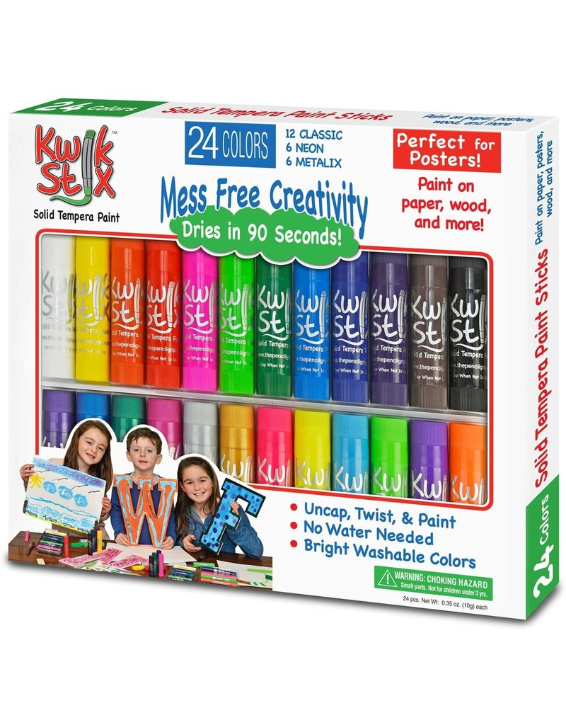 Pencil Grip KwikStix 24 pack