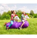 HearthSong Inflatable Hop 'N Go Unicorns