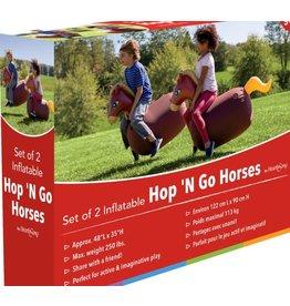 HearthSong Inflatable Hop 'N Horses