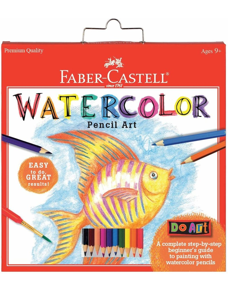 Faber Castel Watercolor Pencil Art