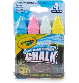 Crayola 4 ct Sidewalk Chalk