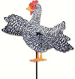 Premier Kites Black & White Chicken Spinner