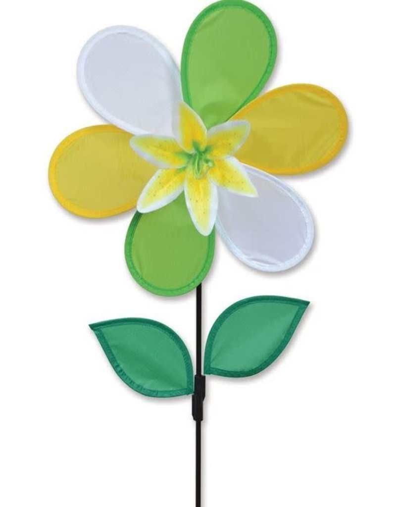 Premier Kites Yellow Lily Spinner