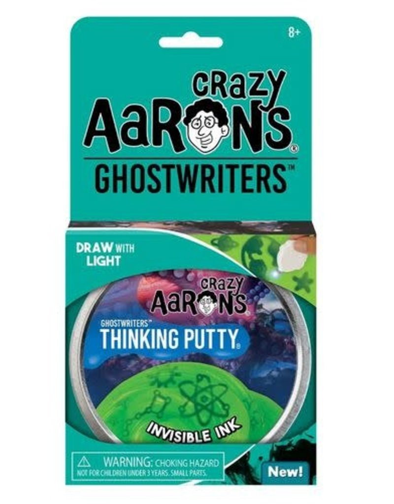 Crazy Aaron Invisible Ink Ghostwriter Putty